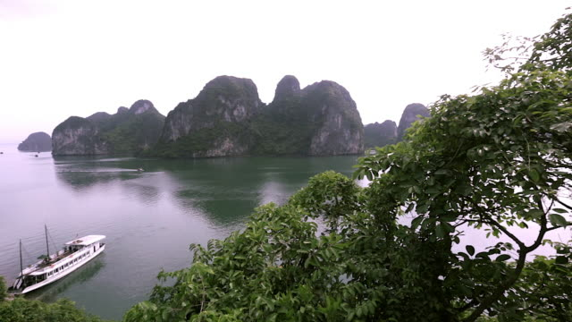 WS PAN Islands in bay / Ha Long Bay, Vietnam