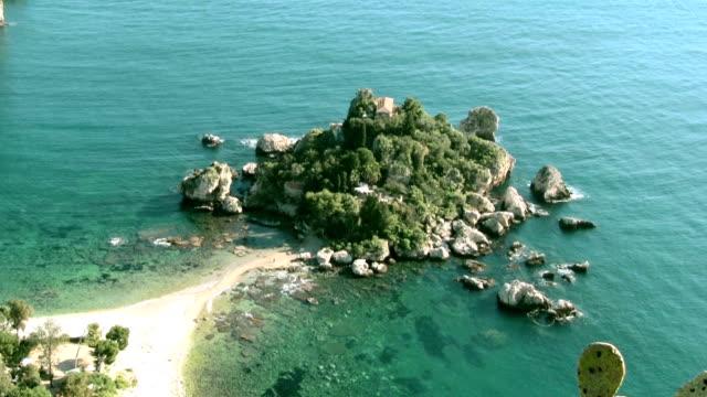 Isola Bella in Taormina, Sicily Italy.