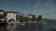 Isola Pescatori. Borromeo Islands, a group of Islands in Lake Maggiore, in the North of Italy