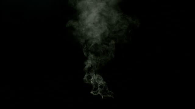 Isolated Smoke shot on Black