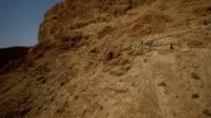 Israel- Masada, Snake Path