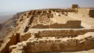 Israel- Masada, storerooms complex