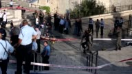 Israeli police said a terrorist attempted to stab a security guard at an entrance to Jerusalems Old City on Wednesday but was shot before harming...