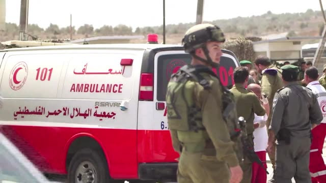 Israeli security forces shot dead a Palestinian who tried to stab a border police officer in the West Bank on Monday authorities said in the fourth...