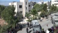 Israeli security forces stormed the home of a Palestinian gunman from the occupied West Bank who was slain at the scene of an attack on an Israeli...