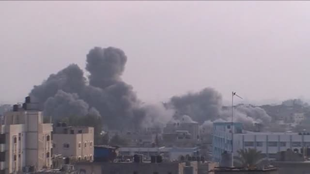 Israels bombardment of Gaza left dozens more Palestinians dead on Tuesday with the spiral of violence showing no sign of abating