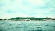 4K: Istanbul, Turkije, het paleis Topkapi, Hagia Sophia - Stock video