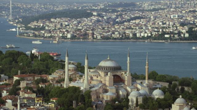 Istanbul With Hagia Sophia And Bosphorus