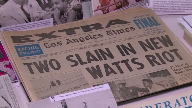 It all started with a traffic stop for reckless driving and escalated into one of the most destructive uprisings Los Angeles had ever seen as police...