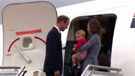 It is the last day of the Duke and Duchess of Cambridge's Royal Tour of Australia and New Zealand Shows exterior shots of the Duke and Duchess of...