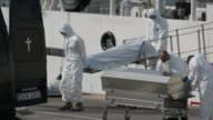 Italian and Maltese navy boats continue a desperate search for the victims of Sunday's shipwreck disaster as an Italian vessel brought the first...