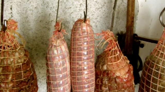 italian capocollo cured pork shoulder