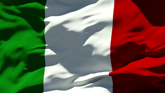 Italian Flag Stock Foo...
