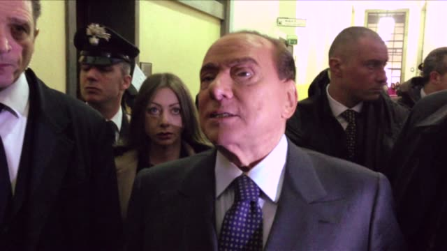 Italian former prime minister Silvio Berlusconi on Friday proclaimed his innocence at an appeal trial in Milan against a tax fraud conviction linked...