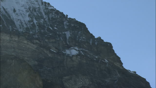 Italian side ridge of the matterhorn