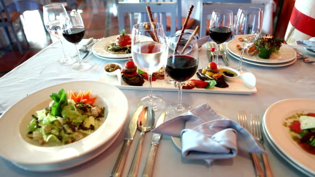 Italian Starters and Wine