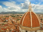 Italy, Florence, Duomo, elevated view
