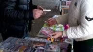 Italy, Mestre, Ukrainian Sunday market