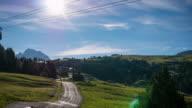 Italy mountain Dolomites Alps