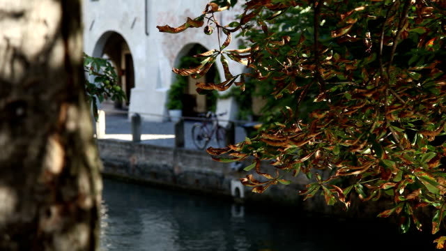 Italy, Veneto, Treviso, the town and the Sile river