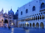 Italy, Venice, Doges Palace and St. Marks Cathedral