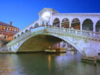 Italy, Venice, Rialto Bridge and the Grand Canal