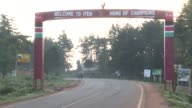Iten in central Kenya is renowned across the world for producing extraordinarily quick middle and long distance runners Iten Kenya