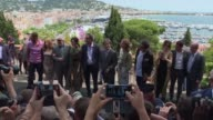 It's a tradition every year at the Cannes film festival an openair lunch in the historic Suquet neighborhood hosted by the mayor for the jury and...