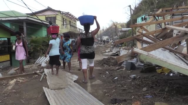 It's been less than a week since Hurricane Maria largely destroyed the Caribbean island of Dominica but despite cutoff supplies and difficult...