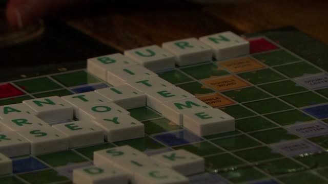 It's not easy to find the right words when you meet someone on a first date let alone when the date involves playing a naughty Scrabble game