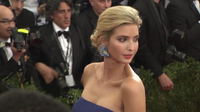 Ivanka Trump at 'China Through The Looking Glass' Costume Institute Benefit Gala Arrivals at Metropolitan Museum of Art on May 04 2015 in New York...