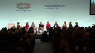 Ivanka Trump present at the Womens20 Summit in Berlin 2017
