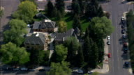 Iverson Mansion And Laramie Plains Museum  - Aerial View - Wyoming, Albany County, United States