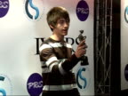 Arrivals interviews and winners posing with awards Alex Turner posing with Ivor Novello award for best album