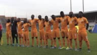Ivory Coast beat Liberia 30 in a 2018 World Cup qualifier match in Abidjan on Tuesday