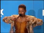 Iyanla Vanzant at the NAACP Image Awards at Pasadena Civic Auditorium in Pasadena California on February 12 2000