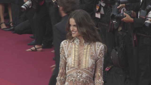 Izabel Goulart at 'The Beguiled' Official Screening Red Carpet at Grand Theatre Lumiere on May 24 2017 in Cannes France