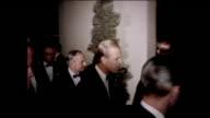Jack Benny Danny Kaye Bob Hope laughing at a table Prince Phillip laughing with Natalie Wood Van Heflin and Jerry Lewis Jack Warner Charlton Heston...
