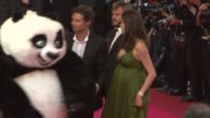 Jack Black and Angelina Jolie at the 2008 Cannes Film Festival 'Kung Fu Panda' Premiere in Cannes on May 15 2008