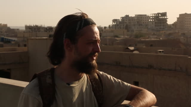 Jack Holmes who died fighting IS in Syria calling them a 'barbaric fascist terrorist organisation who want to take over the world'