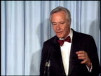Jack Lemmon at the 1988 Academy Awards at the Shrine Auditorium in Los Angeles California on April 1 1988
