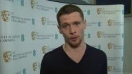 INTERVIEW Jack O'Connell on inspirations award hopes Angelina Jolie and being starstruck at the EE BAFTA Rising Star nominations on 7th January 2015...
