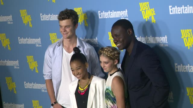 Jack Quaid Amandla Stenberg Willow Shields Dayo Okeniyi at Entertainment Weekly's 6th Annual ComicCon Celebration Sponsored By Just Dance 4 on...