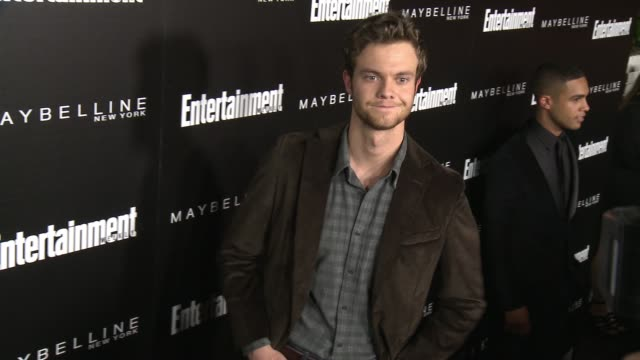 Jack Quaid at 2016 Entertainment Weekly Screen Actors Guild Party at Chateau Marmont on January 29 2016 in Los Angeles California