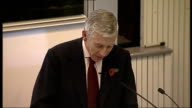 Jack Straw speech at Three Faiths Forum Jack Straw MP speech SOT Let me first express my appreciation for the invitation to speak here tonight from...