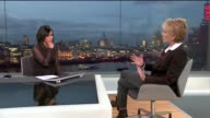 Patricia Cornwell interview ENGLAND London GIR INT Patricia Cornwell LIVE STUDIO interview SOT On her belief that Walter Sickert was Jack the Ripper...