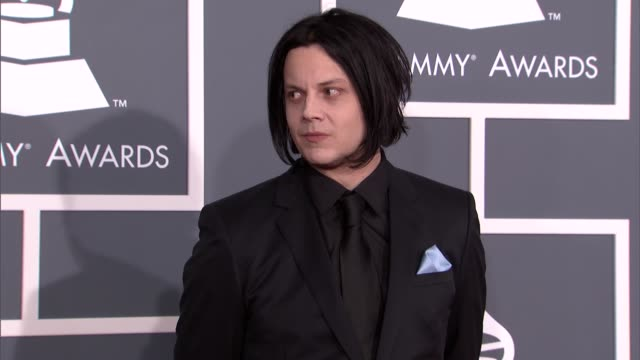 Jack White at The 55th Annual GRAMMY Awards Arrivals in Los Angeles CA on 2/10/13