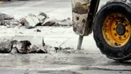 Presslufthammer excavator truck