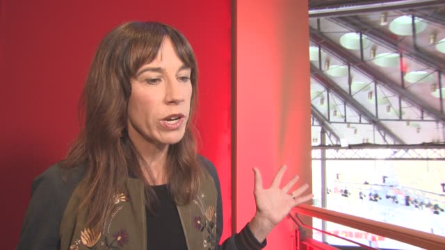 INTERVIEW Jackie van Beek on the story on women working in the film at Berlin Film Festival 'The Inland Road' Interviews at Berlinale Palast on...