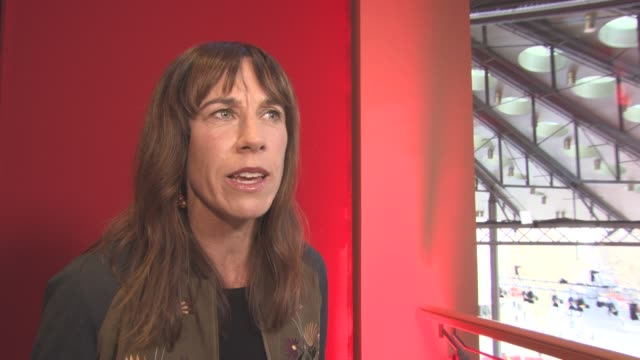 INTERVIEW Jackie van Beek on women working in the New Zealand film industry at Berlin Film Festival 'The Inland Road' Interviews at Berlinale Palast...